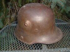 WWI M16/17 German ArmyCombat Helmet,Marked Si62, w/original liner band & rivs