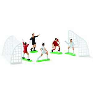 Wilton Soccer Football Cake Topper Decorations Birthday Cake Decorating 7 Pieces