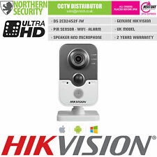 HIKVISION 4mm 5MP 2MP 1080P WIRELESS WIFI PIR MIC P2P SECURITY CUBE IP CAMERA
