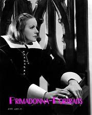 """GRETA GARBO 8x10 B&W Lab Photo """"Queen Christina"""" 1933 Majestic Sorrow Portrait"""