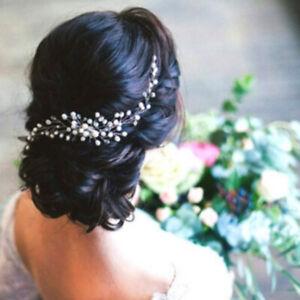 Wedding Bridal Hair Accessories Diamante Crystal Hair Comb Pins Clips Rhinestone