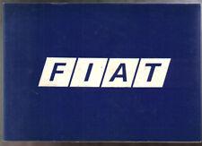 FIAT Tasca storia da Bernabo 1899-1980 12 HP PER PANDA P / b Lingua Inglese