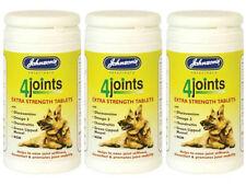 Johnsons 4 Articulaciones Artritis comprimidos extra fuerza dogscats 30 comprimidos 3 Pack Oferta