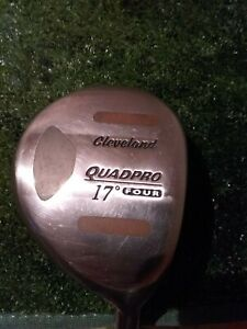 Cleveland Quad Pro 17* 4 Wood Extra Stiff Graphite shaft