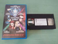 BATMAN Y Robin Clooney Schwarzenegger Uma Thurman - VHS Kassette Tape Spanisch