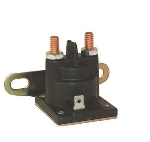 Solenoide Interruptor Batería Relé MTD Briggs&stratton Tractor Cortacésped