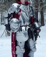 Knight Full Suit of Armor Medieval Wearable Reenactment/Larp Armour Costume