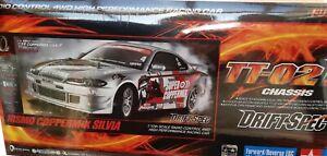 Tamiya 1:10 RC NIS. Coppermix Silvia Drift-Spec TT02D