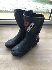 Sidi Vertigo Motorcycle Boots Size 9 - Great Condition