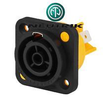 Fiche Secteur Chassis Femelle Powercon 16 Amperes 220 Volt  Neutrik NAC3FPX