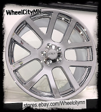 22 inch chrome Dodge Charger Viper SRT OE factory replica rims Challenger 5x115