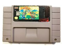 Power Piggs of the Dark Age SUPER NINTENDO SNES Game Tested + Working Authentic!