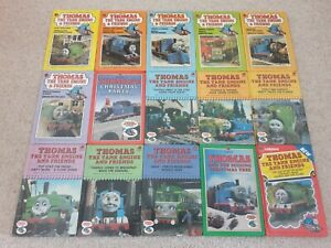 THOMAS THE TANK ENGINE & AND FRIENDS LADYBIRD 15 BOOKS COMPLETE SERIES 848 AWDRY
