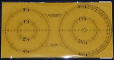 Le sommet circle twin modèle patchwork quilting ruler