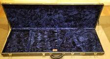 MTD Kingston KZ Bass Guitar Cedar Creek Padded Case Gorgeous Blue Velvet w/ Key!