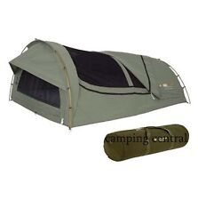 OZTRAIL MITCHELL DOUBLE RIP STOP CANVAS SWAG + CARRY BAG