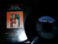 Whitney Houston 80's 45 Vinyl Record with Picture Sleeve Greatest Love of All