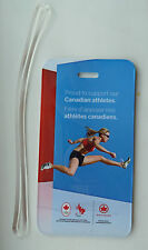 Air Canada 2012 London Olympics Runner Canadian Athletes Luggage Name Tag