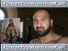 WWE TNA SHEIK ABDUL BASHIR SIGNED PROMO W/ PROOF & COA