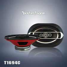 "2 X NEW Rockford Fosgate Punch P1694C 6""x9"" 4-Way Car Speaker"