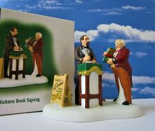 Dept 56 Dickens Village A DICKENS BOOK SIGNING!
