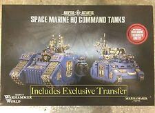 OOP EVENT ONLY Warhammer World Space Marine Land Raider Excelsior Rhino Primaris