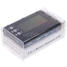 RC 2s-6s LCD Li-Po Li-Fe Battery Voltage Meter Balancer Discharger Portable P6O6