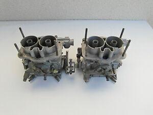 WEBER 36 DCNF CARBURETORS COMPLETE FIAT 128 127 X1/9 SIMCA 1100 VW BEETLE CAMPER