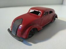 Lehmann Gnom 807/1 Chrysler Airflow tole rouge 1/43