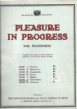 Pleasure In Progress for Pianoforte grade 6 Intermediate (1930's sheet music)