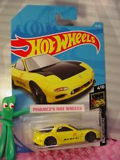 '95 MAZDA RX-7 #16✰yellow;gray 10sp ✰ NIGHTBURNERZ✰2018 i Hot Wheels CASE A/B