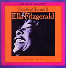"""ELLA FITZGERALD - The Best Years 1971 JAZZ  (Vinile=M / Cover=NM) LP 12"""""""