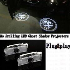 For Alfa Romeo Giulietta Mito 147 159 Car Door Logo Projector Welcome Lights Kit