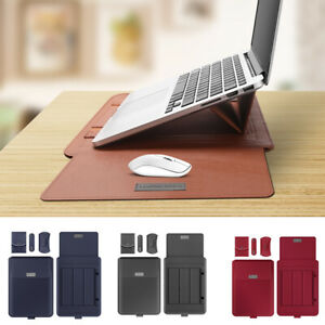 11-15 Inch Foldable Laptop Stand Laptop Sleeve Set Laptop Bag Pouch Case Cover