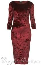 Topshop Stretch, Bodycon Regular Velvet Dresses for Women