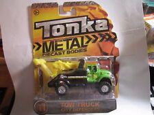 Tonka  Metal  Diecast Bodies  City Defenders,TOW TRUCK WRECKER