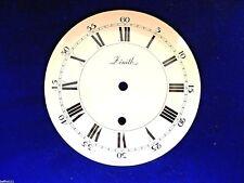 Cadran pendule neuchateloise Zenith  Uhr Clock Zifferblatt 151 MM 5 dial E1