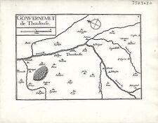 Antique maps, Gouvernement de Thoulouse