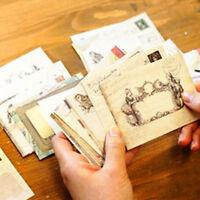 12pcs Vintage Small Card Envelopes Acien European Style Craft Paper