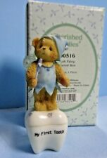 Vtg . Cherished Teddies . 2000 . Tooth Fairy Covered Box . 790516