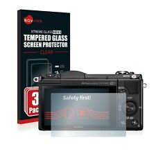 3x TEMPERED GLASS SCREEN PROTECTOR for Sony Alpha 5000 (DSLR-A5000)