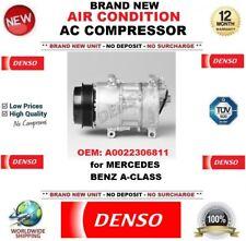 DENSO AIR CONDIZIONE Nuovo AC Compressore OEM: A0022306811 per MERCEDES BENZ CLASSE A