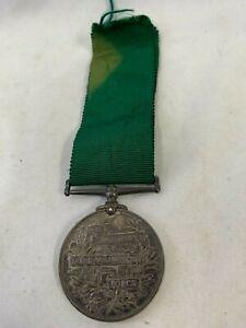 Edward VII Long Service In The Volunteer Force Medal, To 1466 Gunnar J.King