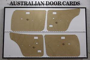 Toyota CORONA MK2 Door Cards. Blank Trim Panels 1972 - 1976 MKII. Sedan, Wagon