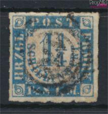 Schleswig-holstein 7 exemplaire normal oblitéré 1864 Timbre-poste (9108890