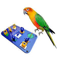 Parrot Bird Intelligence Training Toys for Parakeet Macaw Eclectus Cockatoo