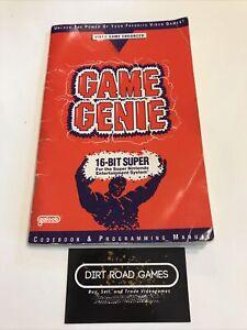 Game Genie Video Game Enhancer (Super Nintendo SNES)
