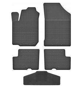 - Grau Nadelfilz 4tlg 26cm 2010-2014 Auto Fußmatten Dacia Duster 1 Pha1