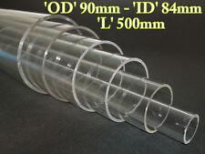 Acrylic Basic Pressure Hulls OD 90mm x ID 84mm x Long 500mm ( Thick 3mm )