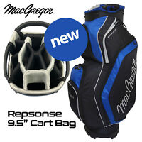 MacGregor 14-WAY Divider Response 9.5'' Golf Cart Bag - Black/Blue NEW! 2020